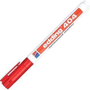Маркер перманентный EDDING E-404/2 красный 0,75мм круглый наконеч.