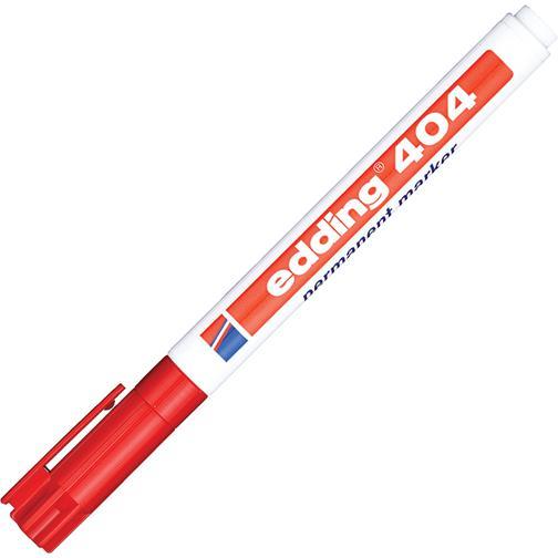 Маркер перманентный EDDING E-404/2 красный 0,75мм круглый наконеч. 37849070