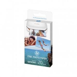 Фотобумага HP ZINK Sticky-Backed Photo Paper, 5x7.6 cm, 20 sheets(W4Z13A)
