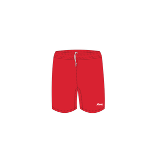 Шорты баскетбольные Jögel Jbs-1120-021, красный/белый, детские размер YS