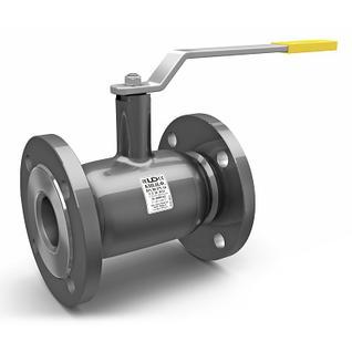 Кран шаровый стальной цельносварной LD Ду125/100 Ру16 фланцевый неполнопроходной