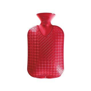Грелка плоская FASHY красная, 2 л