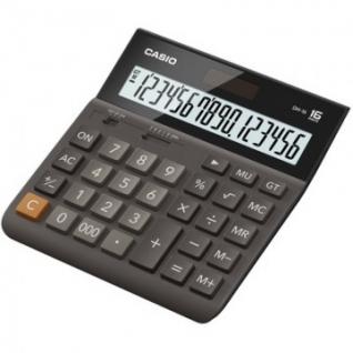 Калькулятор настольный ПОЛНОРАЗМЕРНЫЙ CASIO бухг. DH-16, 16 разряд., DP