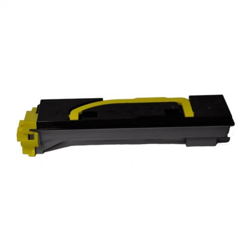 Совместимый тонер-картридж TK-540Y для Kyocera Mita FS-C5100DN (желтый, 4000 стр.) с чипом 4517-01 Smart Graphics 851359