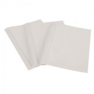 Обложка для термопереплета Promega office белые,карт./пласт.10мм,100шт/уп.