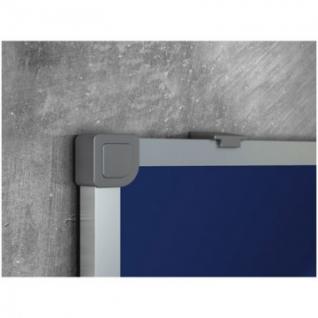 Доска для информации текстильная 90х120 синяя Attache Россия