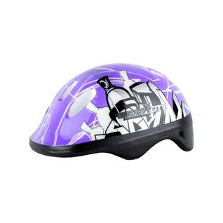 Ролик. шлем Maxcity Baby City, фиолетовый (s)