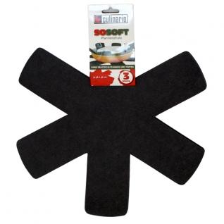 Кухонные аксессуары. Открывалки. Steuber GmbH Вкладыши Pan Protector для хранения сковородок NW-PP-Black-051909