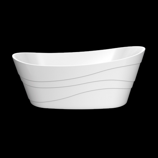 Отдельно стоящая ванна LAGARD Alya White Star 6944855