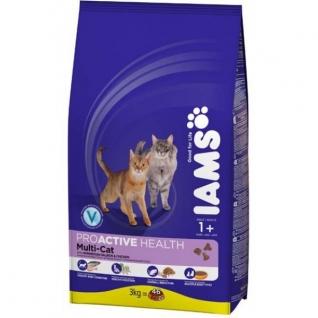 IAMS Iams® ProActive Health™ Adult Multi-Cat для кошек с курицей и лососем 1,5 кг