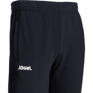 Тренировочный костюм Jögel Jcs-4201-061, хлопок, черный/белый размер L