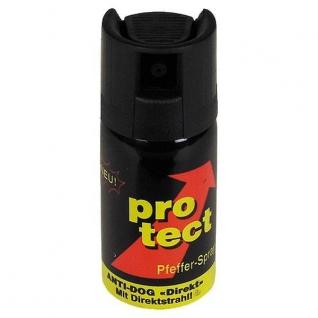 Спрей Protect Pfefferspray Spruehstrahl ballistisch 40 ml