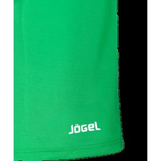 Шорты баскетбольные Jögel Jbs-1120-031, зеленый/белый, детские размер YM