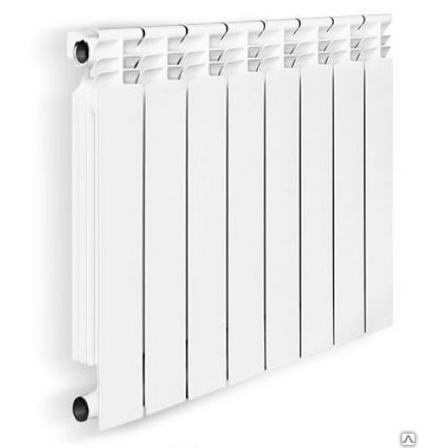 Биметаллический радиатор OASIS 350/80 12 секций 1342