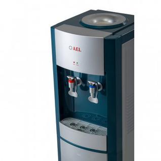 Кулер для воды AEL LD-AEL-28 marengo/silver напольный электронное охлажден