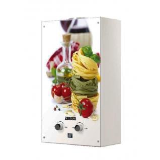 Газовый проточный водонагреватель 16-21 кВт Zanussi GWH 10 Fonte Glass La Spezia
