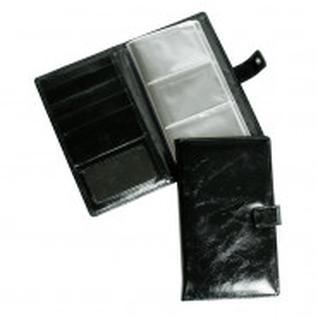 Визитница настольная,3 кармана,на 72 визитки,Grand,кож.черная,02-143-0713