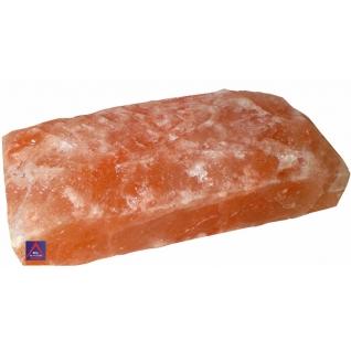 Кирпич гималайской соли 200х100х50 мм для бани и сауны (одна сторона натуральная, арт. SZ1R)