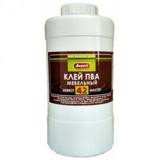 Клей ПВА мебельный Аквест-42 1 кг.