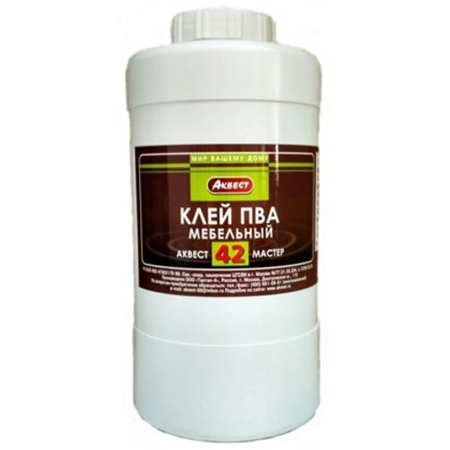 Клей ПВА мебельный Аквест-42 1 кг. 6403617