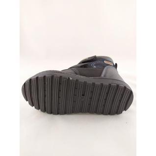 N7115-1-A ботинки для мальчика черный Мышонок 22-27 (27)