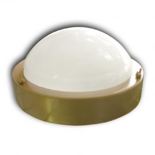 Светильник для бани ТЕРМА 3 золото (круглый, до +120 С, IP65, арт. НББ 03-60-003)
