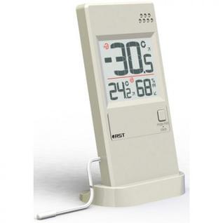 Термометр гигрометр с термосенсором RST слоновая кость 01595