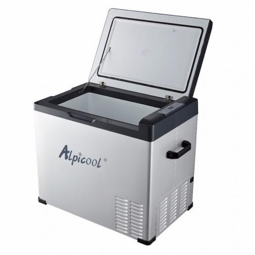 Kомпрессорный автохолодильник ALPICOOL C50 черный (50л, 12/24/220В) 36995008 2