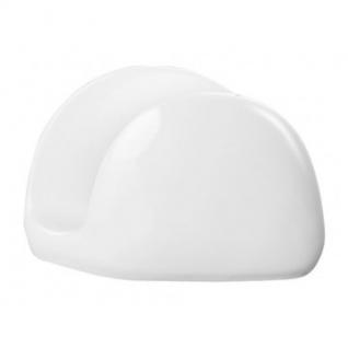 Салфетница Wilmax белая фарфор 11х8см WL-996093