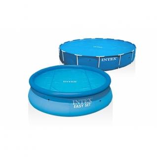 Защитная плёнка для бассейна Solar с обогревающим эффектом, диаметр 244 см. Intex