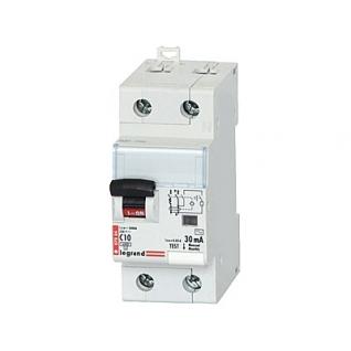 Дифференциальный автомат 2-полюсный 16А 30мА (411002)