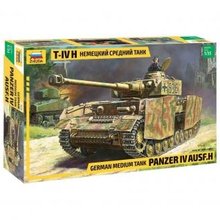 Сборная модель немецкого среднего танка T-IV H, 1:35 Звезда