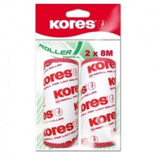 Ролик для чистки одежды Kores запасной блок 2х50 л., 32402