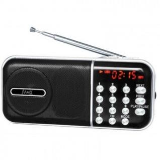 Радиоприемник Max МR-321 Black