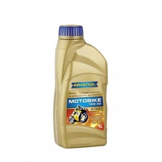 Моторное масло Ravenol Motobike 4-T Mineral 15W40 1л