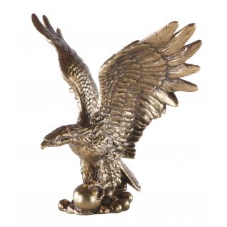Статуэтка «Символ власти» (декоративная скульптура) (Античное золото)