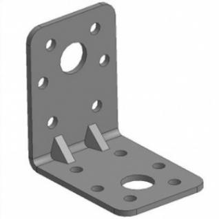 Кронштейн крепежный 5/4 50х50х35х2мм равносторонний Буратино усиленный