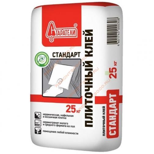 СТАРАТЕЛИ Стандарт клей плиточный для внутренних работ (25кг) / СТАРАТЕЛИ Стандарт клей плиточный для внутренних работ (25кг) Старатели 36984105