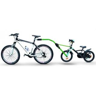 Прицепное устройство PERUZZO Trail Angel детского велосипеда к взрослому зеленое Peruzzo