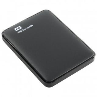 Портативный HDD WD Elements Portable 2Tb 2.5, USB 3.0, WDBMTM0020BBK-EEUE