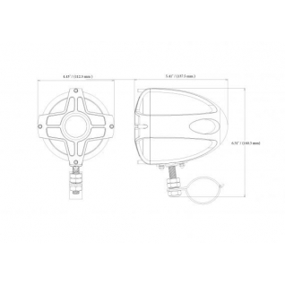 Акустическая система Boss Audio MC440B BOSS AUDIO