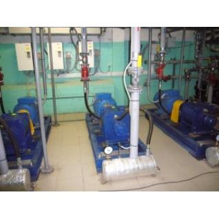 Индивидуальные системы водяного отопления, насос - теплогенератор НТГ- 055