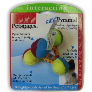 "Petstages Petstages игрушка для собак Mini ""Пирамида текстильная"""