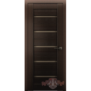 Межкомнатная дверь LINE 1 Л1ПГ4 стекло бронза
