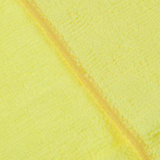 Салфетка хозяйственная универсальн микрофибра 300г/м2 30х30см желтая Китай
