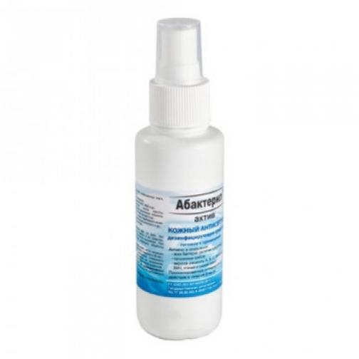 Антисептик кожный Абактерил-АКТИВ 100 мл, спрей 37867494
