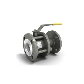 Кран шаровой стальной разборный 11с67п Ду 50 LD фланцевый (полнопроходной)