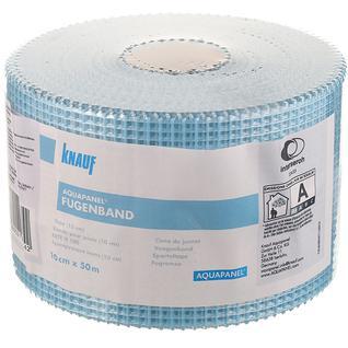 КНАУФ Аквапанель лента стеклотканевая для швов 10см х 50м KNAUF Aquapanel Fugenband лента стеклотканевая серпянка для швов 0,1х50м Кнауф