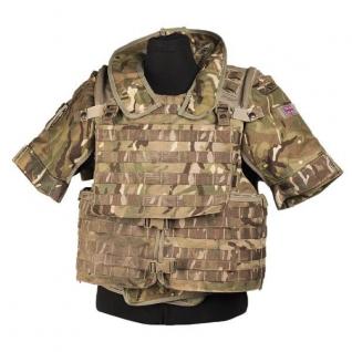 Жилет Osprey MK IV британской армии, камуфляж MTP, б/у