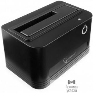 "Gembird Gembird HD32-U2S-4 Докстанция 2.5""/3.5"" черный, USB 2.0, SATA, HDD/SSD"